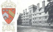 coa001001 - Wadham, Coat Of Arms Postcard Post Card