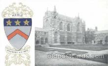 coa001002 - Keble, Coat Of Arms Postcard Post Card