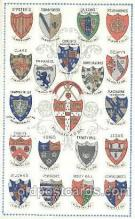 coa001004 - University of Cambridge, Coat Of Arms Postcard Post Card