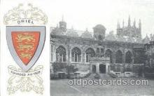 coa001006 - Oriel, Coat Of Arms Postcard Post Card