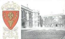 coa001007 - Hertford, Coat Of Arms Postcard Post Card