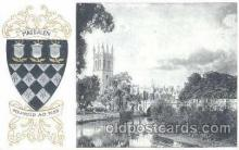coa001012 - Magdalen, Coat Of Arms Postcard Post Card