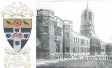 coa001016 - Christ Church, Coat Of Arms Postcard Post Card