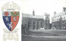 coa001021 - Pembroke, Coat Of Arms Postcard Post Card