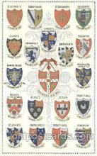coa001022 - University of Cambridge, Coat Of Arms Postcard Post Card