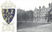 coa001024 - Trinity, Coat Of Arms Postcard Post Card