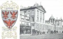 coa001030 - Queens, Coat Of Arms Postcard Post Card