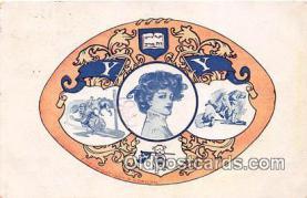 cog001003 - Harvard Coat of Arms  Postcard Post Card