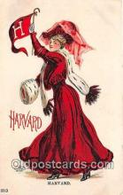 cog001010 - Harvard College Girl Postcard Post Card