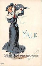 cog001017 - Yale  Postcard Post Card