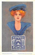 cog002069 - College Girl Post Card