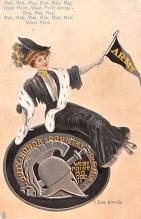 cog002099 - College Girl Post Card