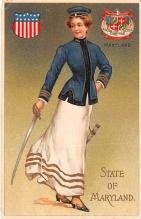 cog002131 - State Girl Post Card
