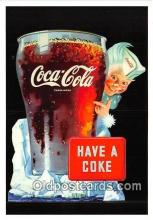 cok001020 - Coca Cola Advertising Post Card Postcard, produced year 1991