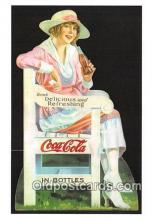 cok001023 - Coca Cola Advertising Post Card Postcard, produced year 1991