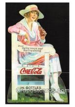 cok001024 - Coca Cola Advertising Post Card Postcard, produced year 1991