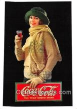 cok001035 - Coca Cola Advertising Post Card Postcard, produced year 1991
