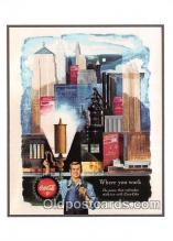 cok001043 - Coca Cola Advertising Post Card Postcard, produced year 1991