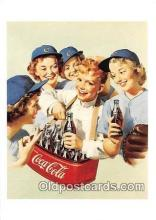 cok001057 - Coca Cola Advertising Post Card Postcard, produced year 1991