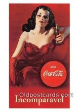 cok001058 - Coca Cola Advertising Post Card Postcard, produced year 1991