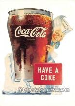 cok001060 - Coca Cola Advertising Post Card Postcard, produced year 1991