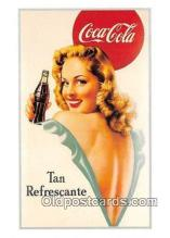 cok001061 - Coca Cola Advertising Post Card Postcard, produced year 1991