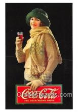 cok001073 - Coca Cola Advertising Post Card Postcard, produced year 1991