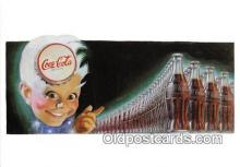 cok001078 - Coca Cola Advertising Post Card Postcard, produced year 1991