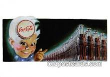 cok001079 - Coca Cola Advertising Post Card Postcard, produced year 1991