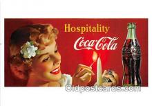 cok001083 - Coca Cola Advertising Post Card Postcard, produced year 1991
