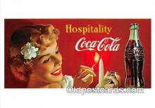 cok001084 - Coca Cola Advertising Post Card Postcard, produced year 1991