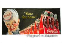 cok001088 - Coca Cola Advertising Post Card Postcard, produced year 1991