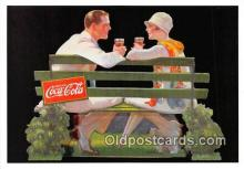 cok001089 - Coca Cola Advertising Post Card Postcard, produced year 1991