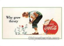 cok001094 - Coca Cola Advertising Post Card Postcard, produced year 1991