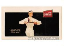 cok001095 - Coca Cola Advertising Post Card Postcard, produced year 1991