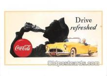 cok001097 - Coca Cola Advertising Post Card Postcard, produced year 1991