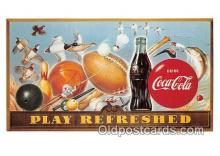cok001101 - Coca Cola Advertising Post Card Postcard, produced year 1991