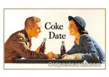 cok001111 - Coca Cola Advertising Post Card Postcard, produced year 1991