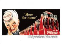 cok001114 - Coca Cola Advertising Post Card Postcard, produced year 1991