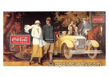cok001117 - Coca Cola Advertising Post Card Postcard, produced year 1991
