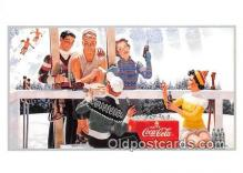 cok001118 - Coca Cola Advertising Post Card Postcard, produced year 1991