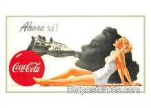 cok001120 - Coca Cola Advertising Post Card Postcard, produced year 1991