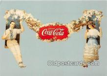 cok001122 - Coca Cola Advertising Post Card Postcard, produced year 1991