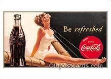 cok001127 - Coca Cola Advertising Post Card Postcard, produced year 1991