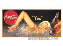 cok001128 - Coca Cola Advertising Post Card Postcard, produced year 1991