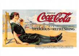cok001149 - Coca Cola Postcard