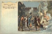 Burning of stamp ACT, Boston