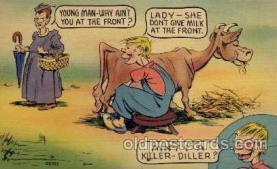 com001007 - Comic, Comedy, Comical Postcard Post Card