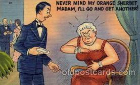 com001009 - Comic, Comedy, Comical Postcard Post Card