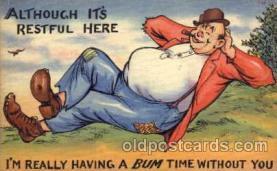 com001014 - Comic, Comedy, Comical Postcard Post Card